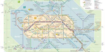 Berlin Wall Subway Map.Berlin Map Maps Berlin Germany