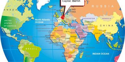 Berlin Germany World Map.Berlin Map Maps Berlin Germany
