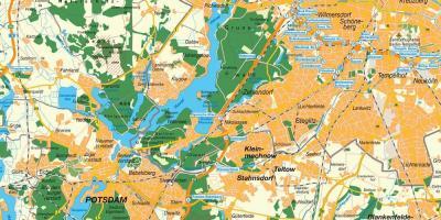 Berlin tram map - Tram map of berlin (Germany)